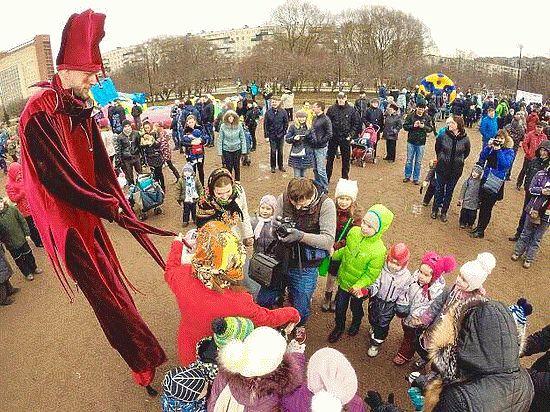 Как муниципальные власти креативят на праздниках