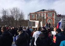 Мурманчане вышли на митинг против коррупции