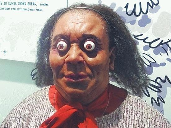 На выставке в Петербурге можно увидеть самую лупоглазую женщину
