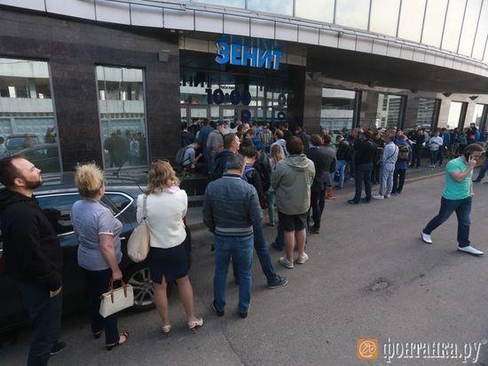 Болельщикам «Зенита» продали билеты нанесуществующие места